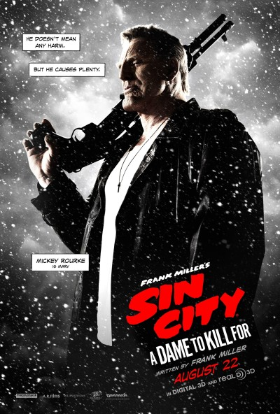 Sin City A Dame to Kill For Poster #7