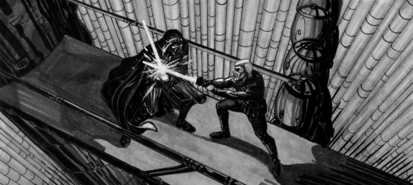 Star Wars Story Boards The Original  Trilogy f