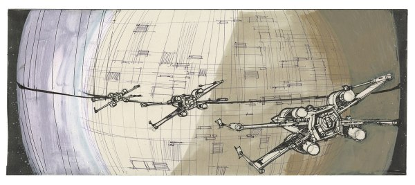 Star Wars Story Boards The Original  Trilogy g