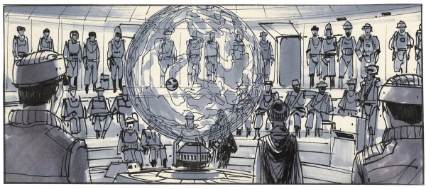 Star Wars Story Boards The Original  Trilogy i