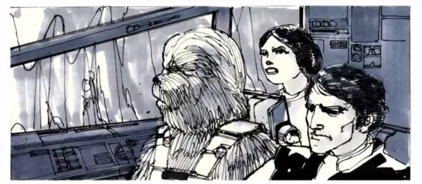Star Wars Story Boards The Original  Trilogy j