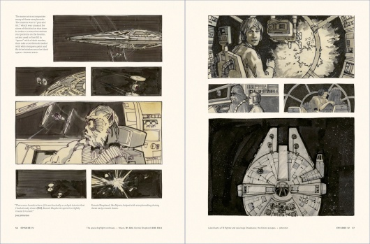 Star Wars Story Boards The Original  Trilogy Page 1