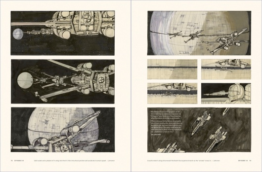 Star Wars Story Boards The Original  Trilogy Page 2