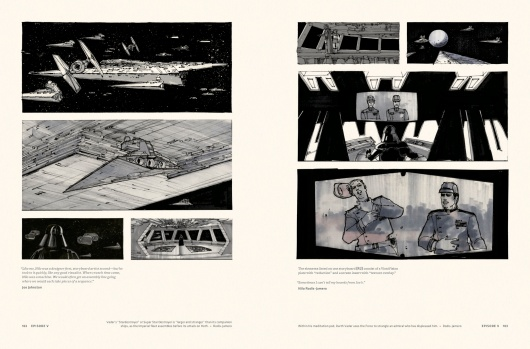 Star Wars Story Boards The Original  Trilogy Page 3