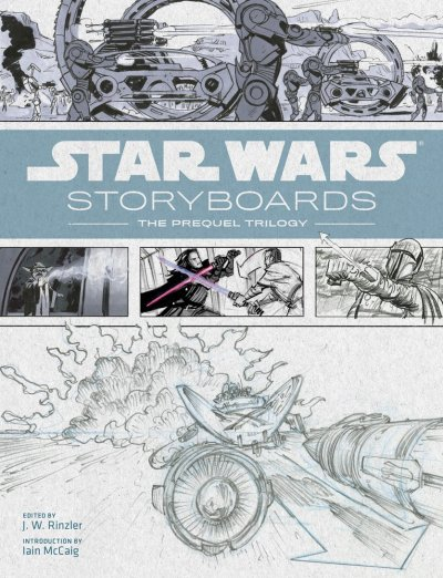 Star Wars Story Boards The Prequel Trilogy Cover