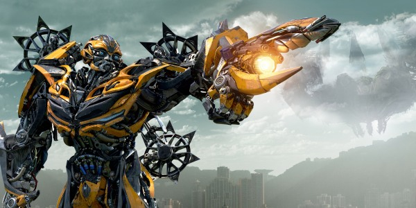 Bumblebee in Transformers Age of Extinction, in theaters 6/27/14.