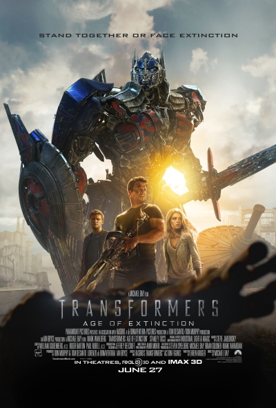 Transformers Age of Extinction Poster #4