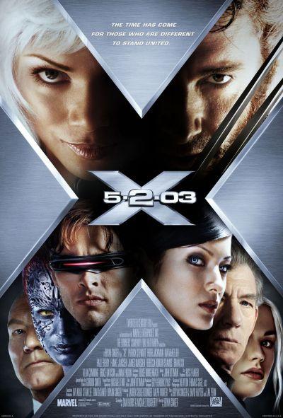 X-Men 2 B Poster
