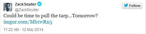 Zach Synder Tweet