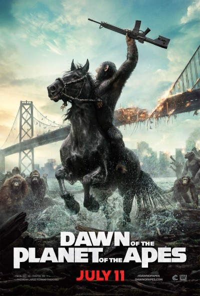 Dawn of the Planet of the Apes Poster #6