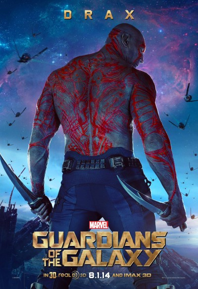 Guardians of the Galaxy Poster Drax