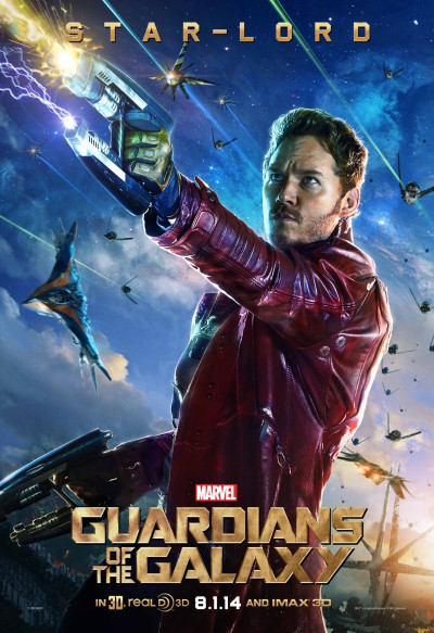 Guardians of the Galaxy Poster Star Lord