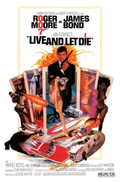Live and Let Die Poster #2