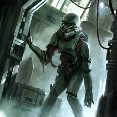 Star Wars Zombie Stormtrooper