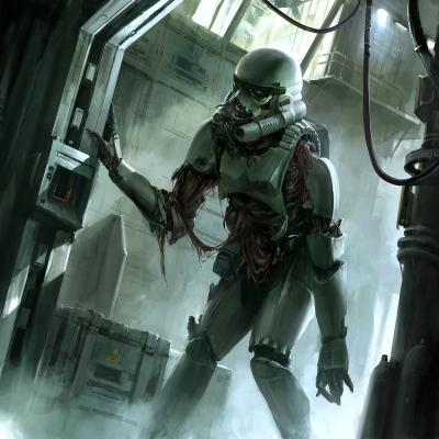 Star Wars Zombie Stormtrooper