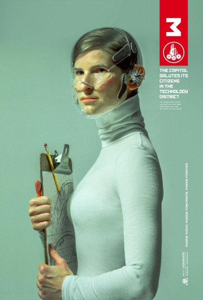 The Hunger Games Mockingjay Part 1 Poster #2