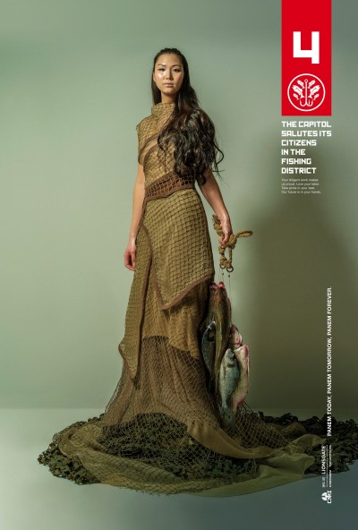 The Hunger Games Mockingjay Part 1 Poster #3