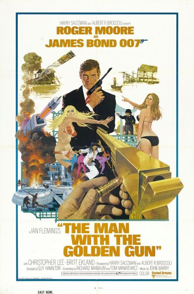 The Man With the Golden Gun Poster #1