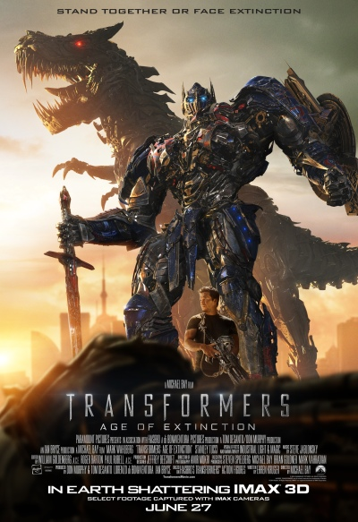 Transformers Age of Extinction Poster #19