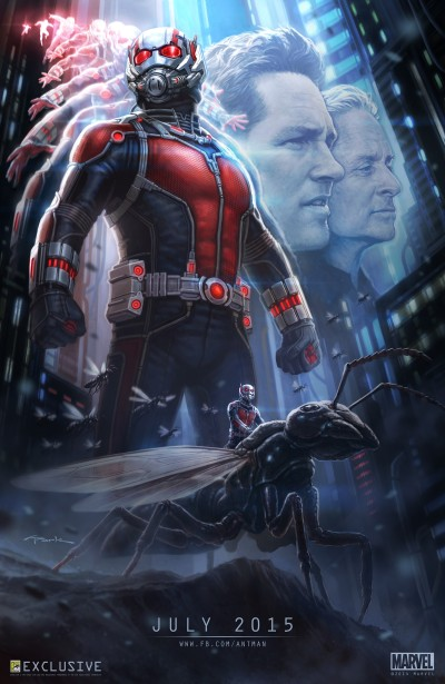 Ant-Man Poster #1 Comic-Con