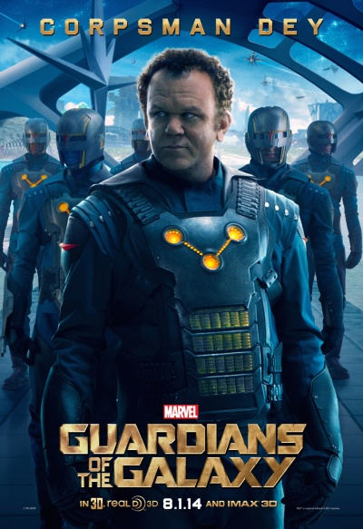 Guardians of the Galaxy Poster Corpsman Dey