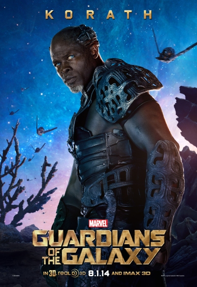Guardians of the Galaxy Poster Korath