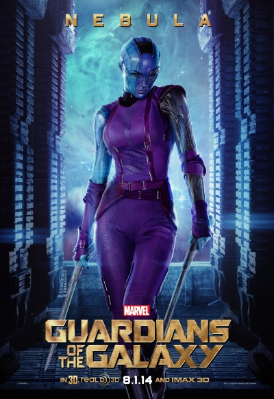 Guardians of the Galaxy Poster Nebula