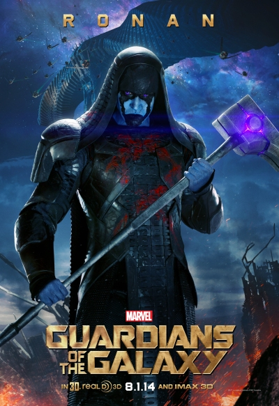 Guardians of the Galaxy Poster Ronan