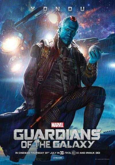 Guardians of the Galaxy Poster Yondu