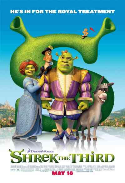 Shrek 3 Poster