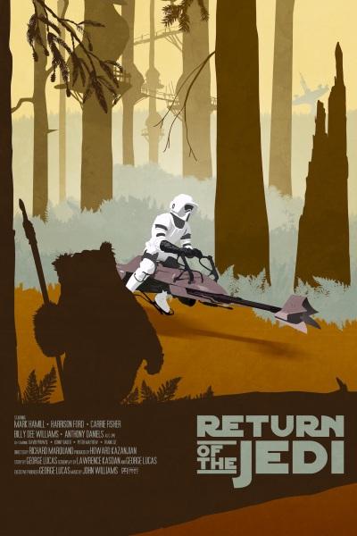 Star Wars ROTJ Poster