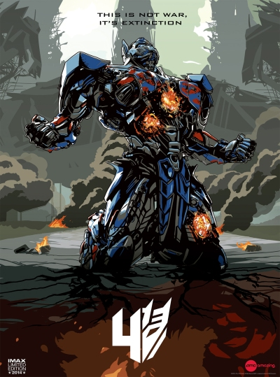Transformers Age of Extinction Imax Poster 1