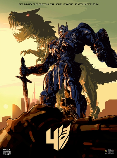 Transformers Age of Extinction Imax Poster 2