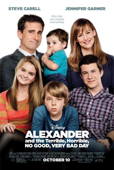 Alexander and the Terrible, Horrible, No Good, Very Bad Day Poster #2