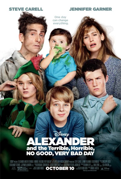 Alexander and the Terrible, Horrible, No Good, Very Bad Day Poster #3