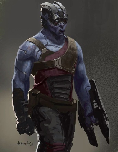 Guardians of the Galaxy Concept Art Image 1