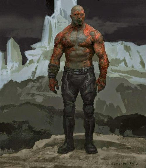 Guardians of the Galaxy Concept Art Image 10