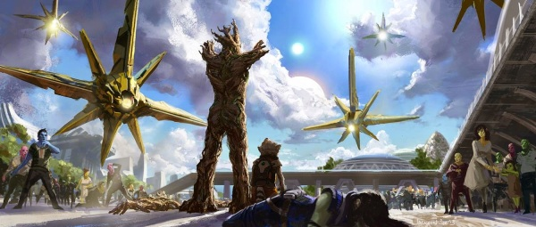 Guardians of the Galaxy Concept Art Image 11