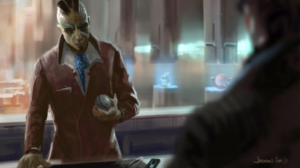 Guardians of the Galaxy Concept Art Image 12