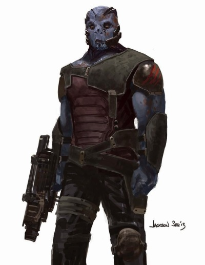 Guardians of the Galaxy Concept Art Image 2