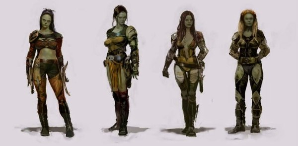 Guardians of the Galaxy Concept Art Image 3
