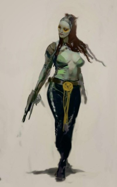 Guardians of the Galaxy Concept Art Image 4