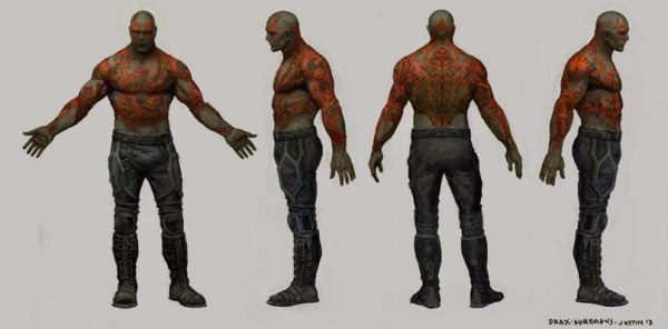 Guardians of the Galaxy Concept Art Image 6
