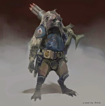 Guardians of the Galaxy Concept Art Image 7
