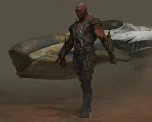 Guardians of the Galaxy Concept Art Image 9