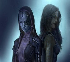 Guardians of the Galaxy – Gamora and Nebula