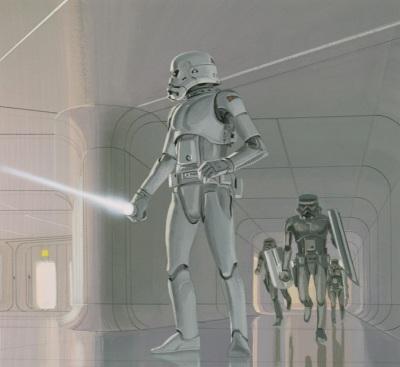 Ralph McQuarrie's Stormtrooper concept art