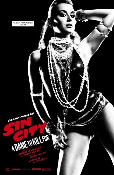 Sin City A Dame to Kill For Poster #17