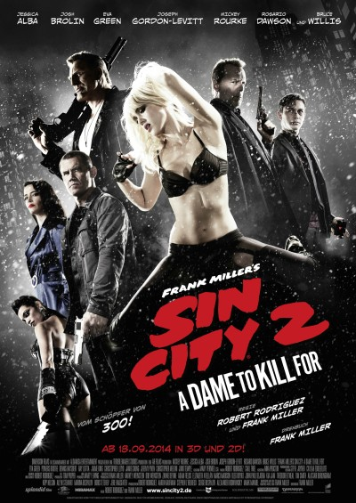 Sin City A Dame to Kill For Poster #23