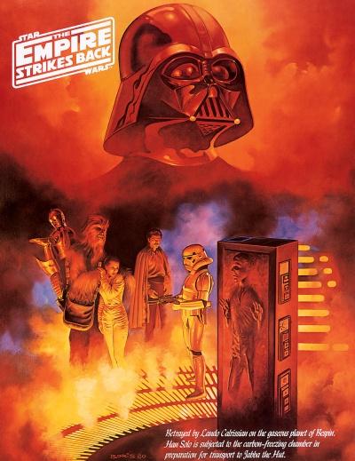 Star Wars Empire Strikes Back Art 2